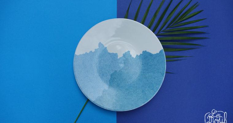 Le motif Bleu d'Agathe