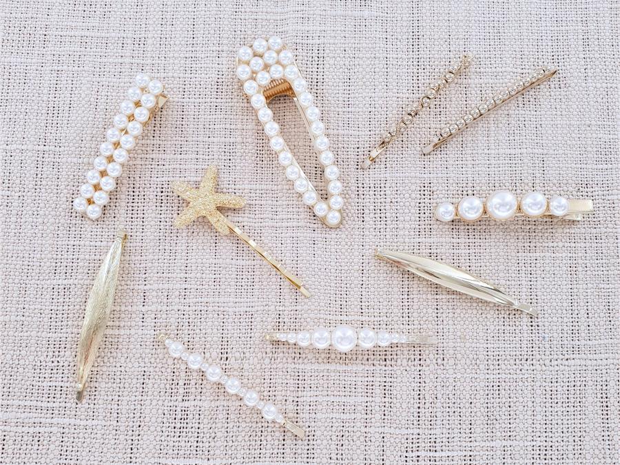 barrette en perles