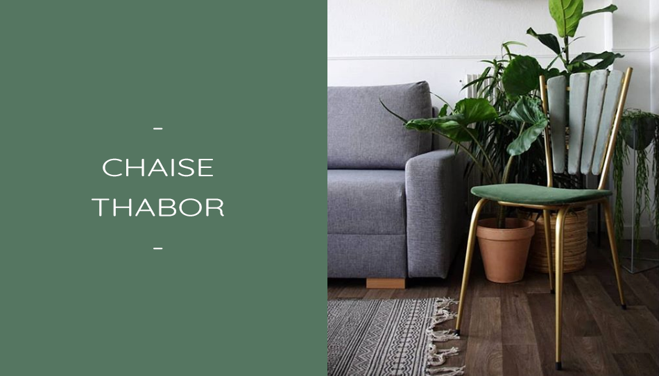 chaise design thabor