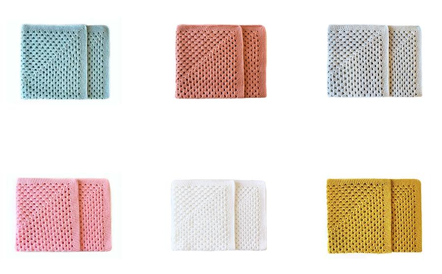 couverture tricotées en france