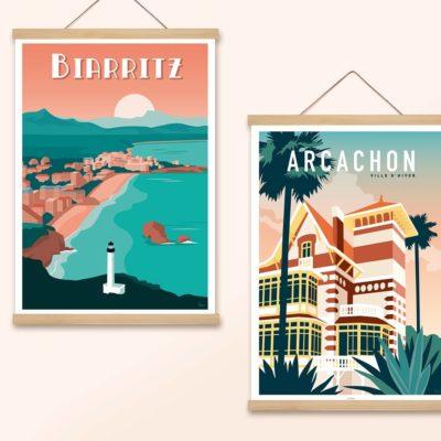 LES AFFICHISTES - Illustrations - Papeterie