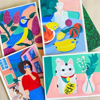 MARIE PELLET - Illustrations - Papeterie