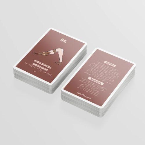 Jeu de cartes Yogasana