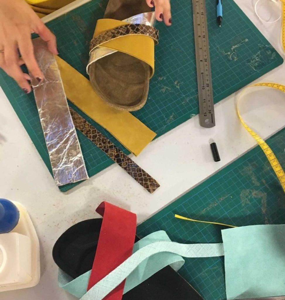 Bande de créateurs Juin 2021 Atelier Foteini sandales
