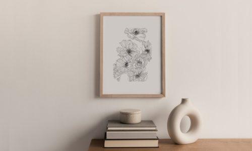 Les dessins poétiques et botaniques de Monocotylédone